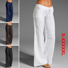 widelegpantswomen, Plus Size, cottonpant, Elastic