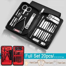 Steel, Manicure Set, Beauty, Tweezers