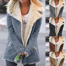 fur coat, Plus Size, slim, slimming