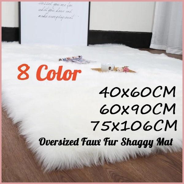Super Soft Washable Shiny Sheepskin Fur