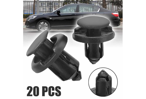 Plastic Trim Clip Kit for Honda Accord Wheel Arch /& Undertray Clip Set Bumper