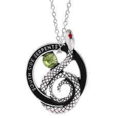 Jewelry, alloyjewelry, retropendant, southsideserpent