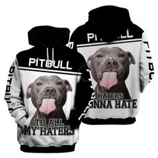 3D hoodies, hooded, Animal, unisex