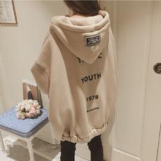 Casual Hoodie, Hoodies, korean style, zipper hoodie