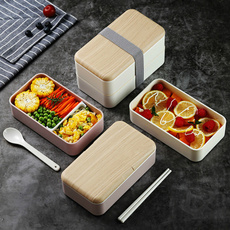 Box, thermallunchbox, portable, Wooden