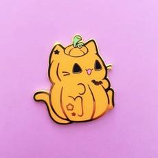 Kitty, Halloween, Pins, enamel