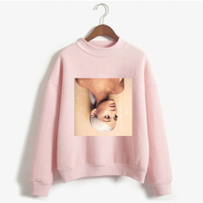 Round neck, Fashion, arianagrandesweatshirt, arianagrande