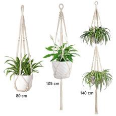 Plantas, Ganchos, planthangermacrame, Garden