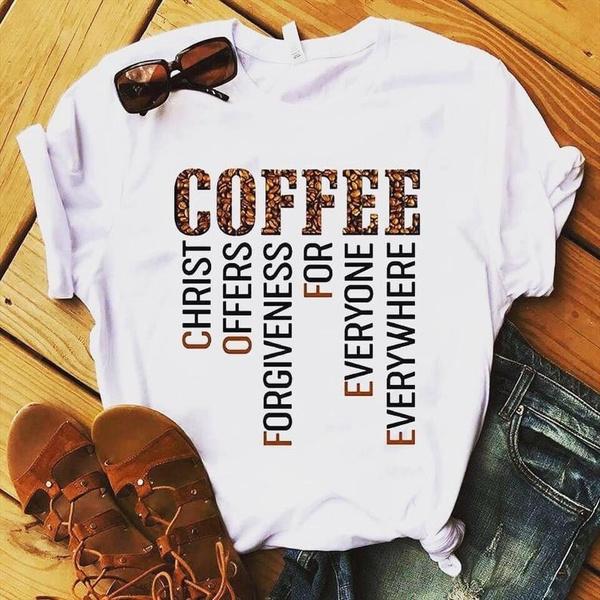 cute, Coffee, momshirt, Christian