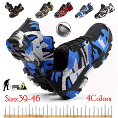 Steel, Plus Size, sports shoes for men, Hiking