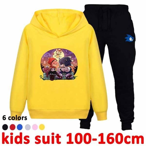 Kids Boys Spiderman Hooded Sweater Hoodies Trousers Sweatshirt Tracksuit Pants