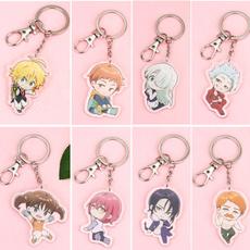 Keys, doublesidedpatterned, Key Chain, Jewelry