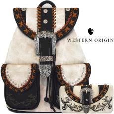 women's shoulder bags, Fashion, Cowgirl, fashion backpack