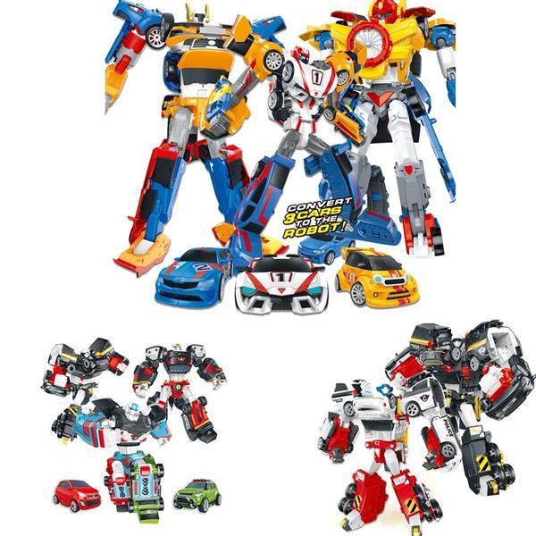 Lensple Tobot 3 2 In 1 Transformation Cars Robot Action Figure