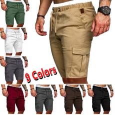 Summer, tacticalshort, Beach Shorts, drawstringshort