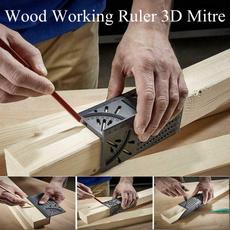 anglemeasuring, Wood, ruler, Tool