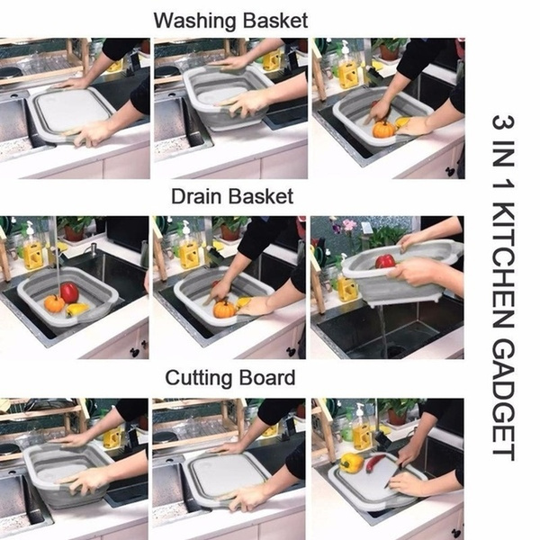 Kitchen & Dining, sinkbasket, Home & Living, washbasin