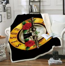 3dprintblanket, Fleece, Rose, Sofas