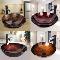 temperedglassvesselsink, Bathroom, Bathroom Accessories, bathroomvanity