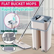 flatbucketmop, Fiber, selfcleaningmopbucket, microfibermop