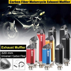 Stainless Steel, exhaustsystem, 51mmexhaust, exhausttip