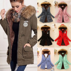 Fleece, Fashion, parkajacket, Winter