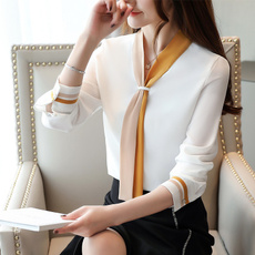 blouse, Fashion, long sleeve blouse, chiffon