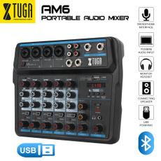Mini, Console, recordingmixer, bluetoothmixer