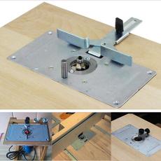Wood, routerinsertplate, Aluminum, insertplate