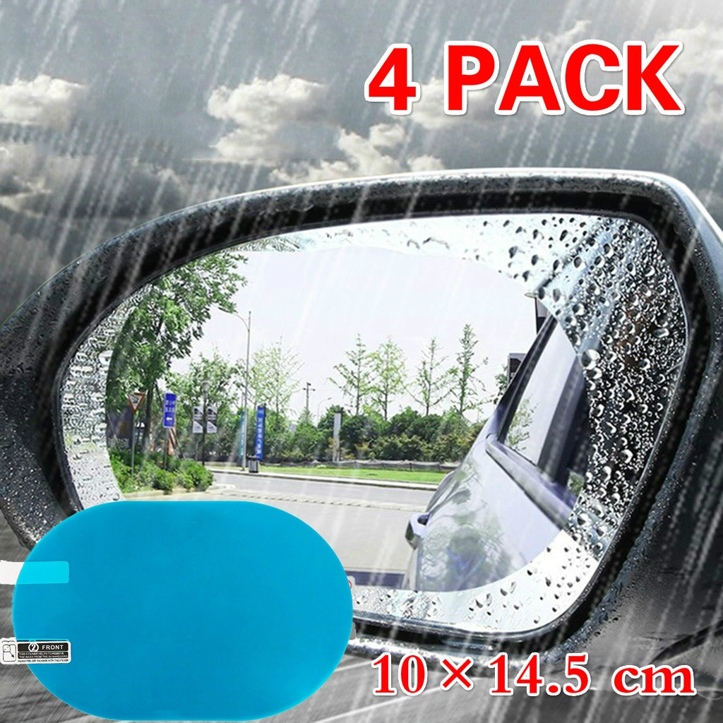 Transparent Grebest Rearview Rain Shield External Decoration Protective Cover A Pair PVC Car Rearview Mirror Rainproof Eyebrow Cover Protector Shield Shade