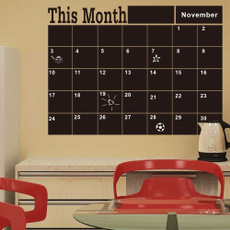 Wall Art, monthlynotesticker, wallstickercalendar, Wall Decal