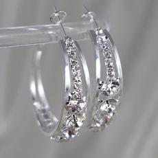 Silver Jewelry, Hoop Earring, Dangle Earring, Jewelry