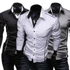 Fashion, Shirt, Spring, Slim Fit