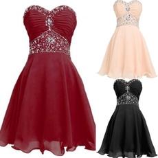 Plus Size, strapless, Fashion, Princess