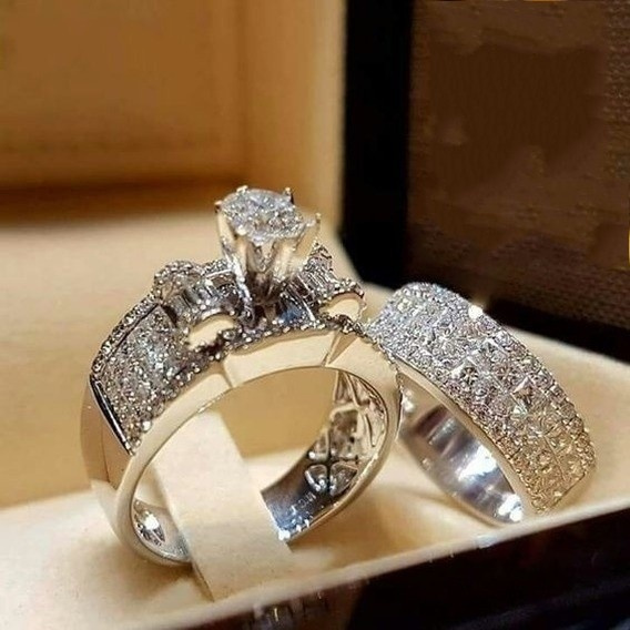 Luxury Couple Band Ring Simple Gifts 6 Sizes 1PC Smooth Lover Womens Jewelry Y3
