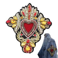 clothingbadge, badgesforbagscoat, Fashion, heartpatche