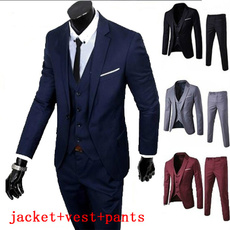 Chaqueta, slim, Blazer, weddingsuit