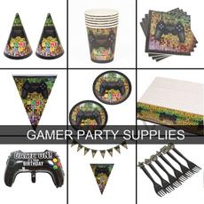 party, gamerpartysupplie, birthdayparty, fortniteparty