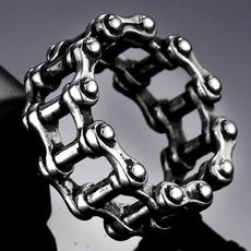 Steel, Goth, Fashion, Chain