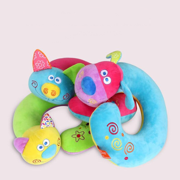 Adult Child kid U Shaped Travel Neck Cushion Headrest Airplane Car Office Pillow