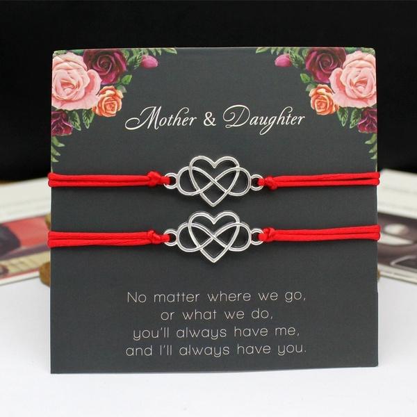 giftcardbracelet, Heart, motheranddaughterlovecard, Love