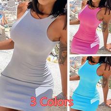 slim dress, bandage dress, Mini, ladies dress
