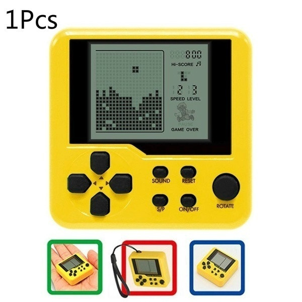 New Children Tetris Handheld Game Console Portable Mini Game Handheld Toys Geek