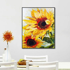 Modern, muraldecal, Sunflowers, Posters