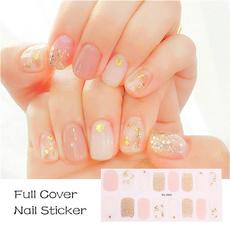 Nails, nail stickers, Fashion, art