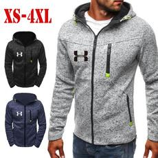 hoodiesformen, Plus Size, Coat, Tops