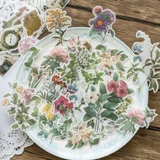 butterfly, Flowers, scrapbookingamppapercraft, Vintage