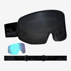 salomon, 100uvcustomfitlenscustom, black, Skiing