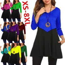 Tops & Tees, Fashion, ruffle, Long Sleeve