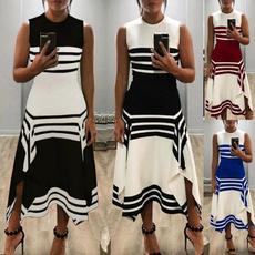 Summer, Plus Size, long dress, fashion dress